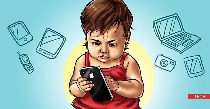 Bahaya Terlalu Lama Di Depan Gadget